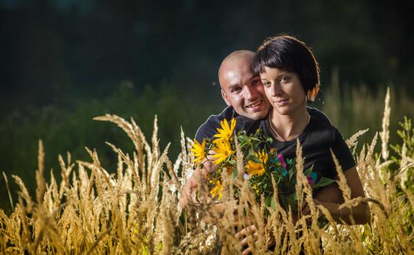 Mirka a Marek portrét v Trenčíne