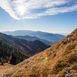 Jesenná krajina - Cestou na Suchý v Malej Fatre