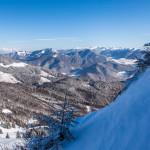 Zimná krajina vo Veľkej Fatre
