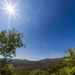 Letná krajina pri jaskyni Driny