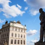 Letná krajina v Prahe