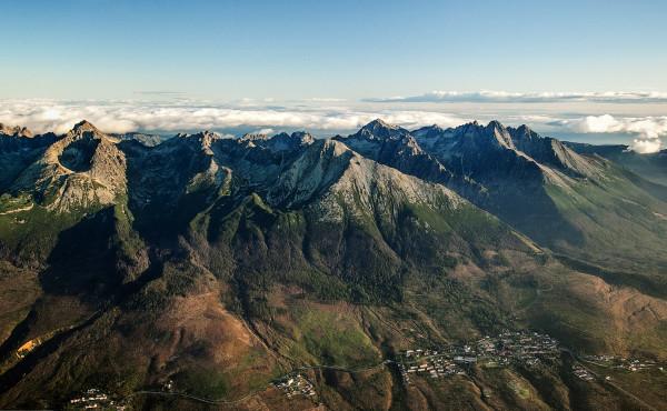 Letecké fotografie, Vysoké Tatry
