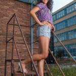 Dominika Sulová portrét modelky