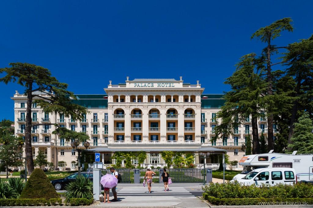 Portorož, Slovinsko, Palace Hotel