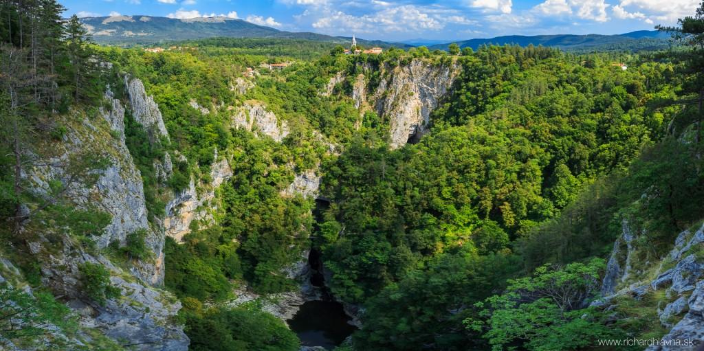 Skocjanska jaskyňa, Slovinsko