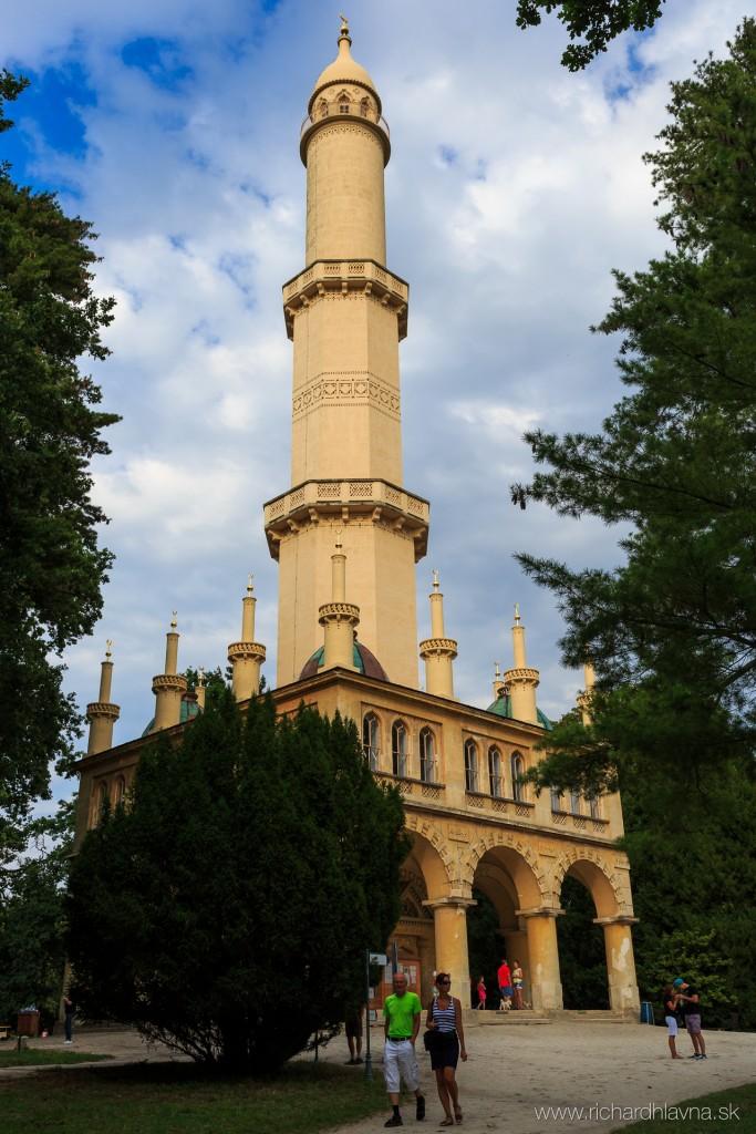 Minaret, Lednice, Lednicko-valtický areál, Česká republika