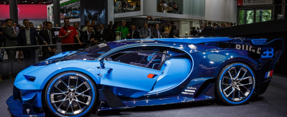 Bugatti Vision Grand Turismo, Autosalón vo Frankfurte IAA 2015