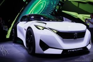 Peugeot Fractal, Autosalón Frankfurt IAA 2015