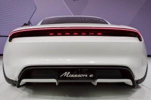 Porsche Mission E Concept, Autosalón Frankfurt IAA 2015