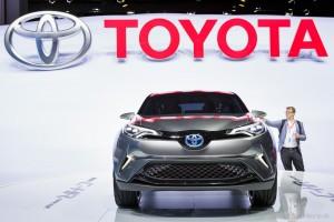 Toyota C-HR Concept, Autosalón Frankfurt IAA 2015