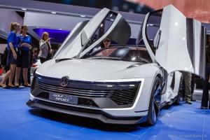 VW Golf GTE Sport, Autosalón Frankfurt IAA 2015
