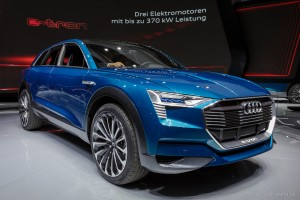 Audi Q6 E-tron, Autosalón Frankfurt IAA 2015