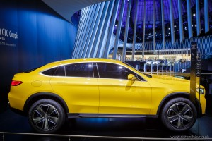 Mercedes-Benz Concept GLC Coupé, Autosalón Frankfurt IAA 2015