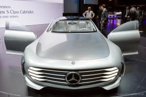 Mercedes-Benz IAA Concept, Autosalón Frankfurt IAA 2015