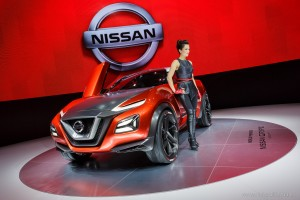 Nissan Gripz Concept, Autosalón Frankfurt IAA 2015