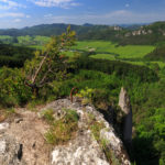 Súľovské skaly panoráma