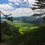 Výhľad zo Súľovských skál