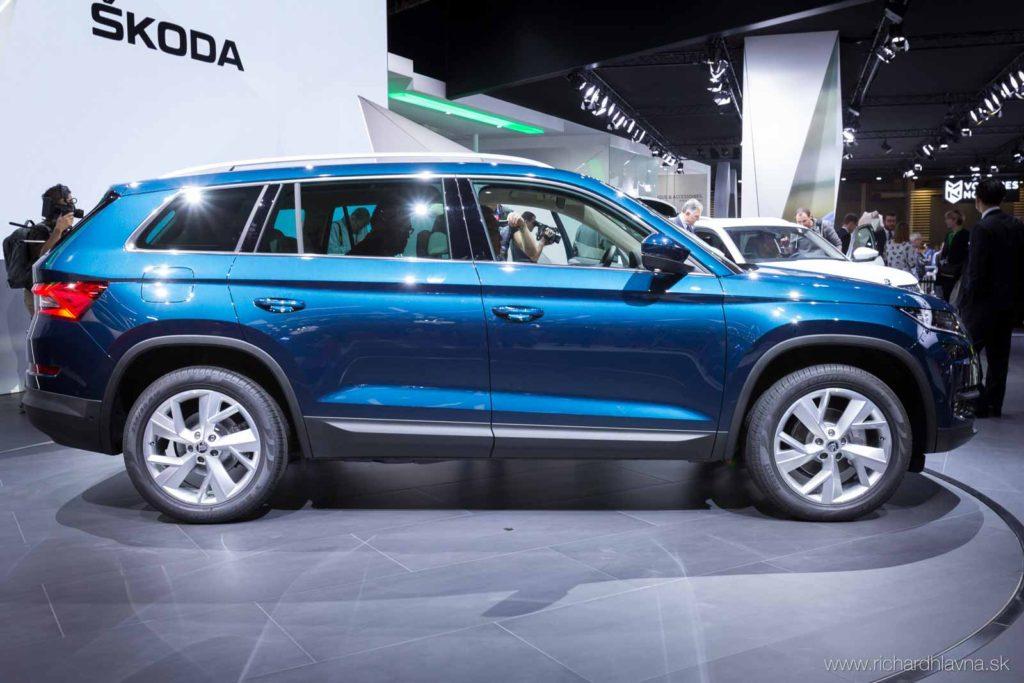 Škoda Kodiaq na autosalóne v Paríži