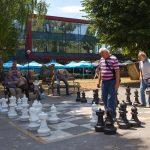 Šach v mestskom parku