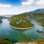 Zátoka na rieke Vrbas