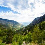 Cesta do údolia Mostaru