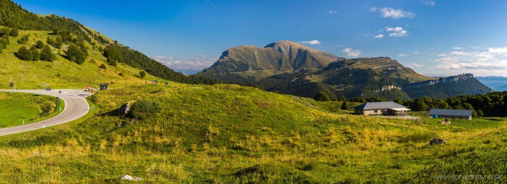 Východná strana Monte Baldo